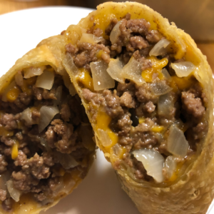 Delicious cheeseburger egg rolls for curbside carryout, catering and delivery in Newport News and Hampton, VA