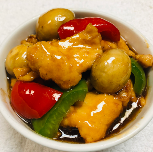 Stir Fried Chicken and Mushrooms in Housemade Asian BrownSauce: Chines Carryout and Delivery in Newport News, VA