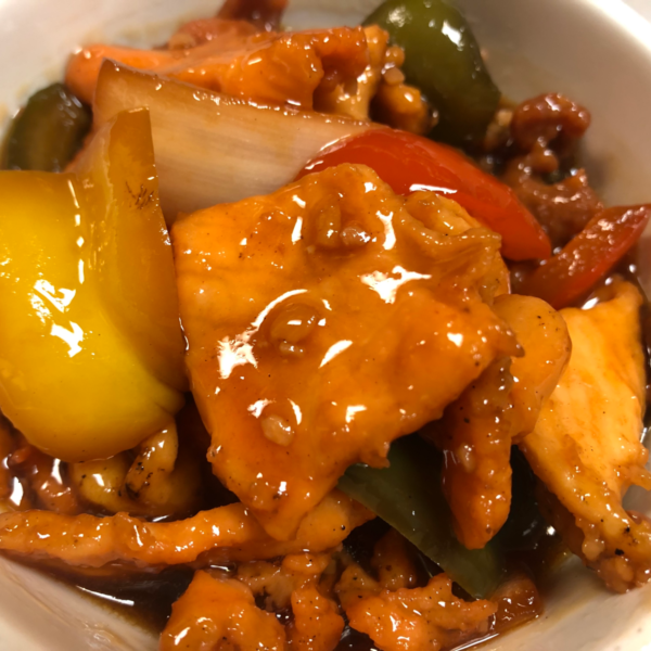 Healthy delicious Stir Fry Chicken with Peppers for curbside carryout, catering and delivery in Newport News and Hampton, VA