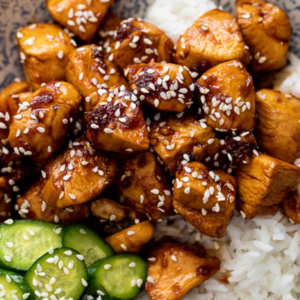 Healthy delicious Chicken Teriyaki for safe, convenient carryout, catering and delivery in Newport News and Hampton, VA