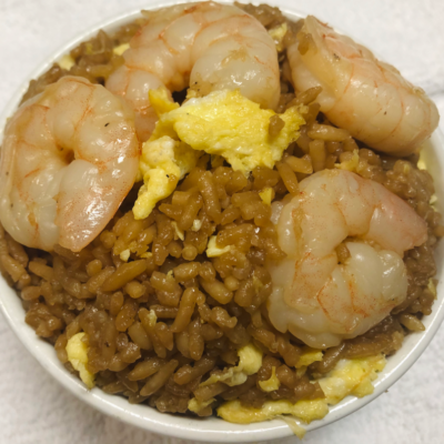 Healthy delicious Shrimp Fried Rice for curbside carryout, catering and delivery in Newport News and Hampton, VA