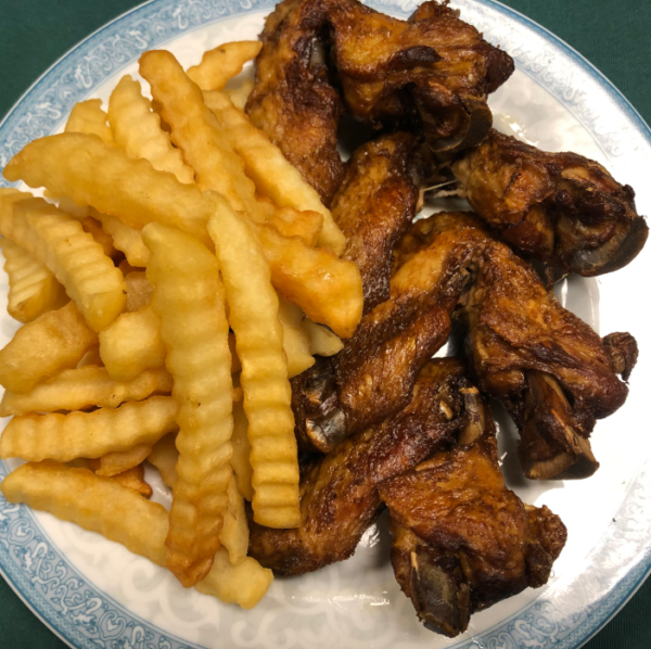 Crispy Fried Tea Braised Chicken Wings for carryout, catering and delivery in Newport News VA
